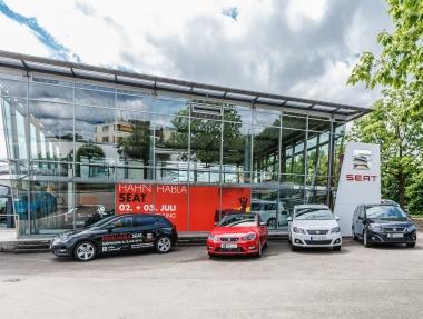 Eröffnung Seat Hahn Automobile Göppingen