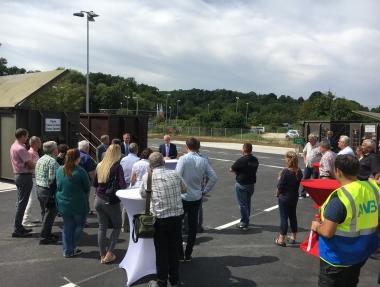 Eröffnung AWB Wertstoffhof